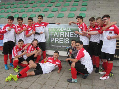 Die Schüler des Poly Bludenz spielten bei der Landesmeisterschaft am fairsten. Schule