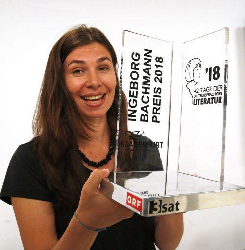 Die Siegerin Tanja Maljartschuk hat erst vor wenigen Jahren Deutsch gelernt. APA