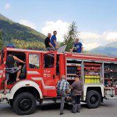 Feuerwehr Vandans verfügt wieder über mobiles Löschwasser
