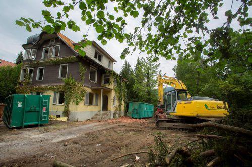 Die Villa Freudeck war eines von sechs benachbarten Häusern, die von Georg Baumeister entworfen wurden. VN/RP