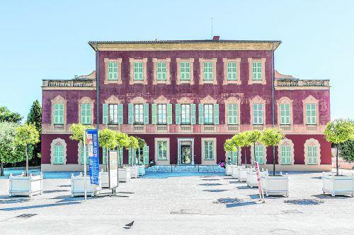 Diese Villa aus dem 18. Jhdt. bewohnte der Künstler bis zu seinem Tod.