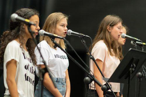 Durchschnaufen und den Beat finden, dieser Aufgabe stellen sich die Jugendlichen bei der Crossculture-Week.VN/Stiplovsek