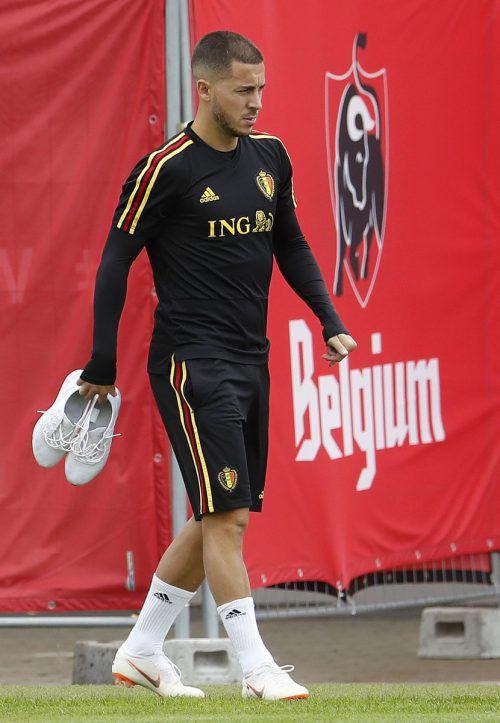 Eden Hazard ist einer der Kandidaten für Real Madrid.afp