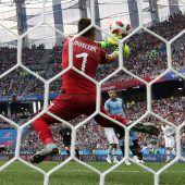 Frankreich ganz abgezocktins Halbfinale
