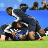 Frankreich gnadenlos effektiv