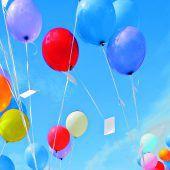 Luftballon flog von Kinderfest in Österreich bis nach Australien