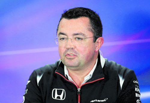 Eric Boullier gab fünf Jahre lang den Renndirektor bei McLaren. ap