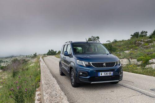 Erste VN-Testfahrten mit dem neuen Peugeot Rifter, der seine Markteinführung im Oktober haben wird.werk