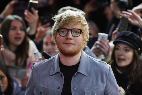 Es Sheeran wollte die private Kapelle im mittelalterlichen Stil unter anderem für seine Hochzeit mit Freundin Cherry Seaborn bauen lassen. AP