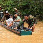 Wasser dringt nach Kambodscha vor