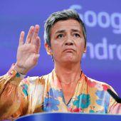 EU verhängt 4,34 Milliarden Euro schwere Rekordstrafe gegen Google