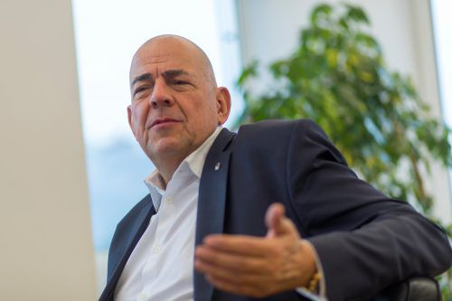 Ex-Zumtobel-CEO Ulrich Schumacher will eine halbe Million Euro Ablöse.VN/Paulitsch