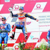 Der neunte Streich von Marquezauf dem Sachsenring