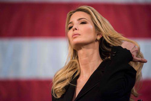 """""""Failing Ivanka"""" - versagende Ivanka, so wird Donald Trumps Tochter tituliert.AFP"""