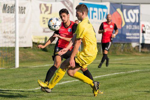 Favoritensieg in Meiningen, wo Hard mit einem 3:1 einen tollen Start in die neue Landesligasaison erlebte.VN-Stiplovsek