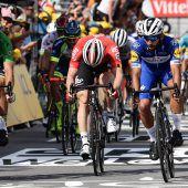 Sagan und Greipel haben gegenGaviria das Nachsehen