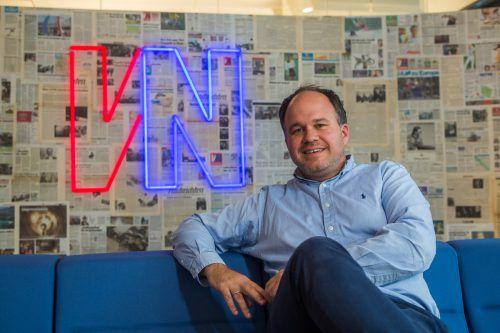 Gerold Riedmann ist neuer Europa-Präsident der INMA. VN/Steurer
