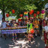 Marsch für Vielfalt