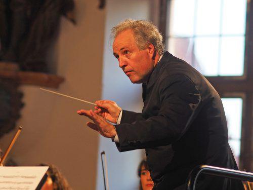 Der Vorarlberger Manfred Honeck tritt auch wieder in Salzburg auf.voith