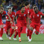 England besiegt Elfmeterfluch