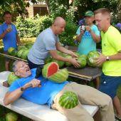 26 Melonen in einer Minute