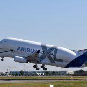 Jungfernflug des Beluga XL
