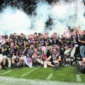 Raiders schafften im Rekordspiel das Football-Triple