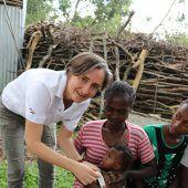 150.000 afrikanische Kinder vor Hunger bewahren