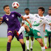 Die Austria Lustenau holt in Klagenfurt nach früher 1:0-Führung ein 1:1. C1