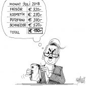 Hartinger-Klein-Milchmädchen-Rechnung!