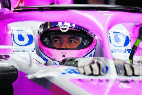 Force India schuldet Pilot Sergio Perez fünf Millionen Dollar. apa