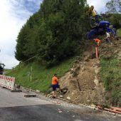 Fraxner Straße für mehrere Tage gesperrt