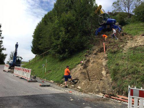 Für die Abschlussarbeiten am Hochwasserschutzprojekt wird die L 69 gesperrt. KAM