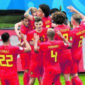 Belgien düpiert Brasilien