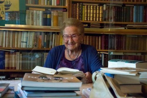 Gertrud Ettenberger ist mit ihren 93 Jahren bei beneidenswerter körperlicher und geistiger Frische.