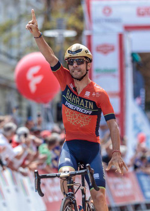 Giovanni Visconti feierte auf der letzten Etappe seinen dritten Tagessieg.gepa