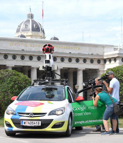 Google-Autos fahren bald auch durch Vorarlberg. APA