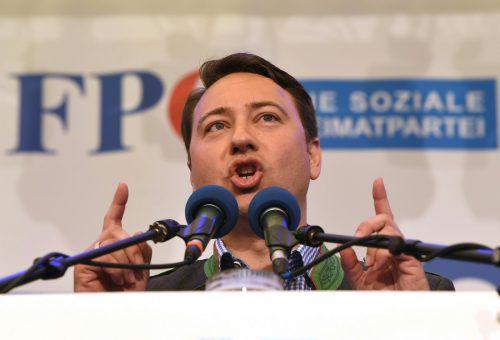 Haimbuchner rief am Mittwoch die ÖVP zur Koalitionsdisziplin auf.APA