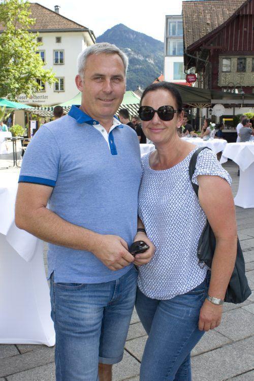 Helmut Schneider (LBS Feldkirch) und Cornelia Werle.