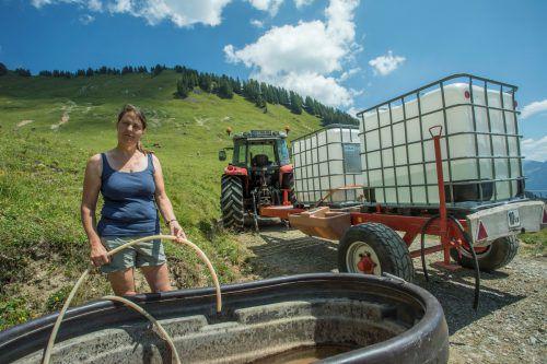 """""""Wir müssen Bedingungen schaffen, dass Naturschutz nicht bestraft wird"""", sagt Biobäuerin Hildegard Burtscher. VN/Paulitsch"""