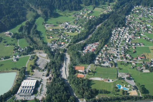 Im Bereich des Unterlaufs des Rellsbaches in Vandans werden über drei Jahre hinweg rund 8 Millionen investiert. Wildbach