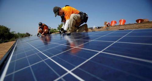 Im ersten Halbjahr wurde in Nord- und Ostdeutschland aus Sonnenenergie mehr Strom gewonnen als im ganzen Jahr 2017.Reuters