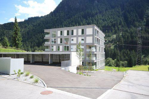 Im Fokus der Bautätigkeit stehen immer stärker ländliche Gemeinden - hier eine Anlage der Alpenländischen Heimstätte in St. Gallenkirch. AH