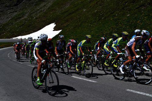 Im Rahmen der 70. Österreich Radrundfahrt sind die Teilnehmer diesen Sonntag auf den Straßen des Klostertals unterwegs. Veranstalter