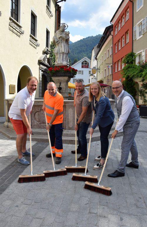 In der Bludenzer Innenstadt soll gemeinsam sauber gemacht werden. Stadt Bludenz
