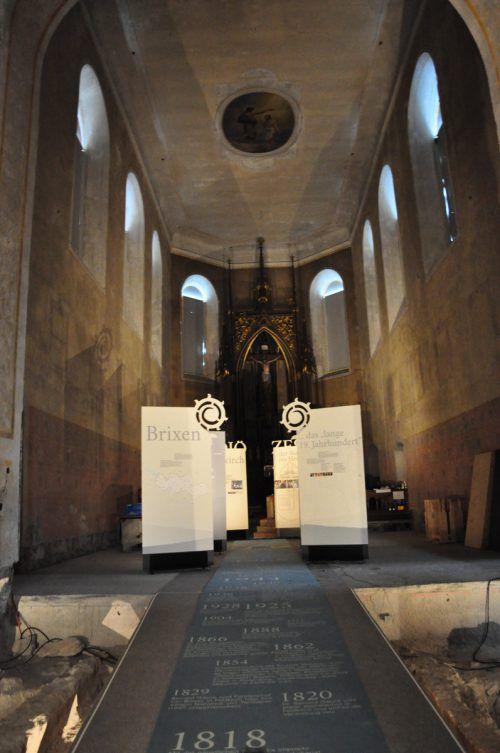 In der Johanniterkirche wird Kirchengeschichte erfahrbar. Fehle