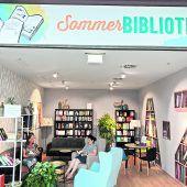 Sommerbibliothek im Messepark lädt zum Schmökern ein