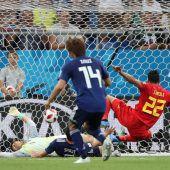 Dramatischer Sieg Belgiens über Japan