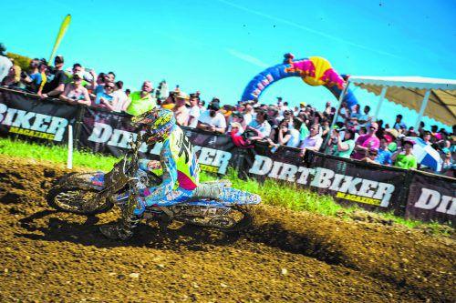 In vier Kategorien geht es am Motocross-Wochenende in Möggers um die Siege.adac
