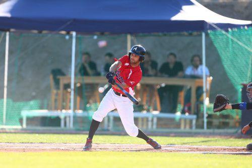 Indians-Catcher Joachim Frick lieferte im Nationalteam bei den EM-Play-off-Duellen eine bärenstarke Leistung ab.Verband